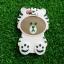 ซิลิโคนหมีน้ำตาลใส่เสื้อ iphone6/6s thumbnail 3
