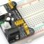 โมดูลแปลงไฟ 5V 3.3V ให้บอร์ดทดลอง Breadboard Power Supply thumbnail 2