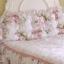 Pre-Order หมอนหัวเตียงเจ้าหญิง พื้นขาวลายดอกไม้ thumbnail 1