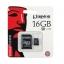 Micro SD Kington 16GB Class10 thumbnail 1