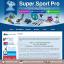 ออกแบบเว็บร้านค้าออนไลน์ สีน้ำเงินเข้ม ร้านขายอุปกรณ์กีฬา thumbnail 1