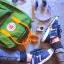 กระเป๋าเป้ Fjallraven Kanken Classic สี leaf green & burnt orange เขียวสายสะพายส้ม พร้อมส่ง thumbnail 4