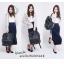 กระเป๋า Anello แบบหนัง PU ขนาดปกติ Standard สีดำ Black ของแท้ นำเข้าจากญี่ปุ่น พร้อมส่ง thumbnail 1
