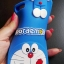 ซิลิโคนลายแมวสีฟ้าเกาะหลัง Huawei P8 lite thumbnail 2