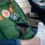 กระเป๋าเป้ Fjallraven Kanken Classic สี leaf green & burnt orange เขียวสายสะพายส้ม พร้อมส่ง thumbnail 5
