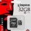Micro SD Kington 32GB Class4 thumbnail 1