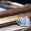 แหวนเงินแท้ เพชรสังเคราะห์ ชุบทองคำขาว รุ่น RG1514 Ohm thumbnail 2
