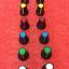 สวิทช์ฝาครอบลูกบิดโอมิเตอร์ (ปุ่มหัวใจหลายสี) ขนาดเส้นผ่าศูนย์กลางภายในของนอกเส้นผ่าศูนย์กลาง 6mm * 15MM 17MM thumbnail 1