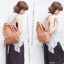 กระเป๋า Anello แบบหนัง PU ขนาดเล็ก mini สีชมพู Pink ของแท้ นำเข้าจากญี่ปุ่น พร้อมส่ง thumbnail 1