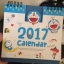 ปฏิทิน 2560 (2017) การ์ตูนดัง ซื้อ 1 แถม 1 ในราคาเดียวกัน เลือกลายได้ ระบุที่หมายเหตุเลยค่ะ thumbnail 41