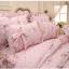 Pre-order ผ้าปูที่นอนเจ้าหญิง มี 2 สี เลือกสีด้านในค่ะ thumbnail 4