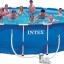 สระว่ายน้ำสำเร็จรูป Size 18 ฟุต ลึก 122 ซม. thumbnail 1