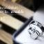 แหวนคู่รักเงินแท้ เพชรสังเคราะห์ ชุบทองคำขาว รุ่น LV15201463 Chapter B & G thumbnail 2