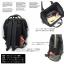 กระเป๋า Anello แบบหนัง PU ขนาดปกติ Standard สีดำ Black ของแท้ นำเข้าจากญี่ปุ่น พร้อมส่ง thumbnail 3