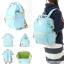 กระเป๋า Anello ขนาดปกติ Standard สี Sax ฟ้าอ่อน ของแท้ นำเข้าจากญี่ปุ่น พร้อมส่ง thumbnail 4