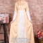 ☆ ✧A-line Lace Dress ✧ ☆ Pastel Yellow