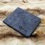 กระเป๋าสตางค์ผู้ชาย ทรงสั้น Sevjink Clear - สีฟ้า