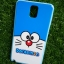 TPU ลายเส้นนูนแมวสีฟ้าตาโต Note3 thumbnail 4