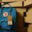 กระเป๋า Fjallraven Kanken Classic สี Lake Blue ฟ้าทะเลสาบ พร้อมส่ง thumbnail 12
