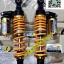 โช้คหลัง GAZI รุ่น HYPER X HONDA PCX PCX125 PCX150 ALL NEW 2014 N-MAX AIRBLADE โช้คแต่ง แก๊ส กระปุกบน เนื้องานอลูมิเนียม ความยาว 320mm ปรับความสูงได้ ปรับค่าสปริงได้ thumbnail 1