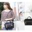 กระเป๋า Anello Boston bag แบบสะพายข้าง / สะพายไหล่ ขนาดเล็ก mini ของแท้นำเข้าจากญี่ปุ่น พร้อมส่ง thumbnail 19