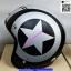 หมวกCLASSIC หมวกกันน็อค SPEED STAR ลาย ดาว กระดุม 5 เม็ด มีแก๊ป บังแดด หมวกนิรภัย เต็มใบ แนว CAFE RETRO STREET OLD SCHOOL thumbnail 5