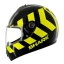 SHARK S600 PINLOCK NO PANIC Black Yellow Black KYK/HE2421 thumbnail 1