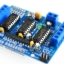 L293D Motor Drive Shield dual for arduino Duemilanove, Motor drive expansion board thumbnail 1