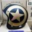 หมวกCLASSIC หมวกกันน็อค SPEED STAR ลาย ดาว กระดุม 5 เม็ด มีแก๊ป บังแดด หมวกนิรภัย เต็มใบ แนว CAFE RETRO STREET OLD SCHOOL thumbnail 3