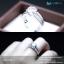 แหวนเงินแท้ เพชรสังเคราะห์ ชุบทองคำขาว รุ่น RG1309 HS thumbnail 3
