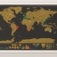 แผนที่โลกแบบขูด Scratch Map thumbnail 10