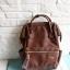กระเป๋า Anello แบบหนัง PU ขนาดเล็ก mini สีน้ำตาล Brown ของแท้ นำเข้าจากญี่ปุ่น พร้อมส่ง thumbnail 4