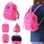 กระเป๋า Anello ขนาด mini สี ชมพูสด Shocking Pink ของแท้ นำเข้าจากญี่ปุ่น พร้อมส่ง thumbnail 1