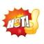 52004 L ป้ายระเบิด HOT ไฟ Size L (บรรจุ 10 แผ่น ต่อ 1 ห่อ) thumbnail 1
