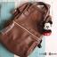 กระเป๋า Anello แบบหนัง PU ขนาดเล็ก mini สีน้ำตาล Brown ของแท้ นำเข้าจากญี่ปุ่น พร้อมส่ง thumbnail 3