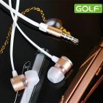 Golf M3 หูฟัง Streo Earphones สีเทา
