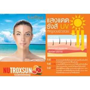 รังสี UV จากแสงแดดตัวการทำลายผิว ปกป้องด้วย Nutroxsun นูทรอกซัน