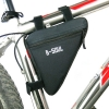 กระเป๋าจักรยาน B-SOUL ทรง สามเหลี่ยม ขนาด: 19X18X3.5 cm. กันน้ำได้