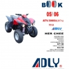 CD Spare Parts Book ATV ADLY 300SII(226A) 2005-2006(EN)