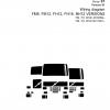 หนังสือ คู่มือซ่อม วงจรไฟฟ้า Wiring diagram Trucks FM9, FM12, FH12, FH16, NH12 VERSION2 FM, FH CHID A610059–, FM, FH CHID B411901– (ข้อมูลทั่วไป ค่าสเปคต่างๆ วงจรไฟฟ้า วงจรไฮดรอลิกส์)