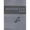 หนังสือ WIRING DIAGRAM MAZDA ROADSTER '97-12~ (ขับหลัง) (JP)