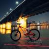 ไฟเตือนความปลอดภัยหลังเลเซอร์จักรยาน สำหรับจักรยาน นักปั่น