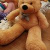 ตุ๊กตาหมีสีน้ำตาลอ่อน1.6เมตร