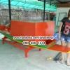 ตู้ไม้ก๋วยเตี๋ยว ยาว 120 ซม สีส้ม เขียว เหลือง (ส่งทั่วประเทศ)