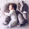 ตุ๊กตาช้าง สีเทาตัวนุ่มนิ่ม ขนาด 55*45*23 ซม.