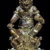 สีี่หูห้าตา เนื้อทองระฆังรมดำ ก้นอุดผงฝั่งโค๊ดผงมหาชนวน ครูบาอริยชาติ