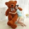 ตุ๊กตาหมีสีน้ำตาลเข้ม 2.2 เมตร