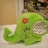 #ตุ๊กตาช้าง งวง-ก้น 20cm. /สูง 13cm.