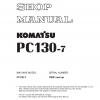 ประเภท : หนังสือ คู่มือซ่อม วงจรไฟฟ้า วงจรไฮดรอลิก จักรกลหนัก PC130-7 70001 (ทั้งคัน) EN