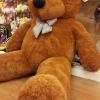 ตุ๊กตาหมีสีน้ำตาลเข้ม 2.5เมตร
